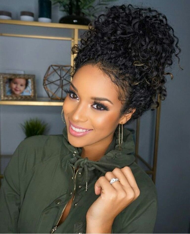 The Best Curly Hairstyles Black Woman Hair Pinterest Curly Pictures