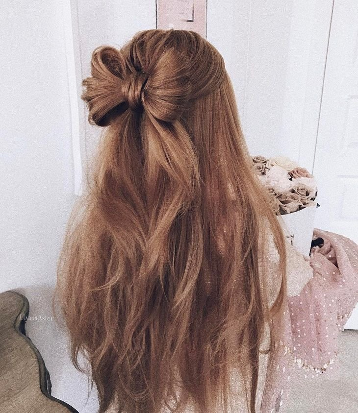 The Best Cute Hair Bow Style To Inspire You Wedding Hairstyle Pictures