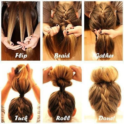 The Best 10 Quick And Easy Hairstyles Step By Step Summer Hair Pictures