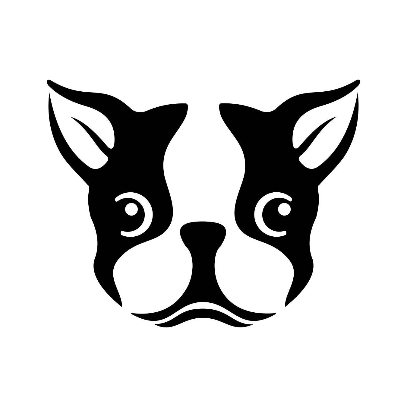 The Best Boston Terrier Dog Head Graphics Svg Dxf Eps Png Cdr Ai Pictures