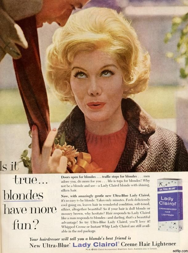The Best Lady Clairol January 1961 Vintage Ads Pinterest Pictures