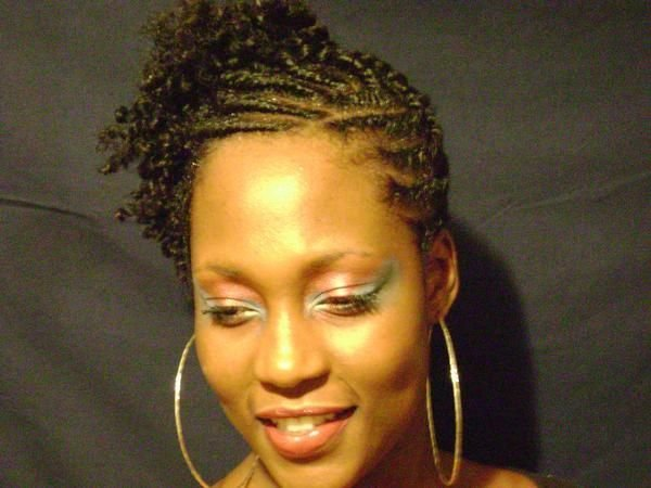 The Best Flat Twists Natural Hairstyle Updo Front Flat Twist Pictures