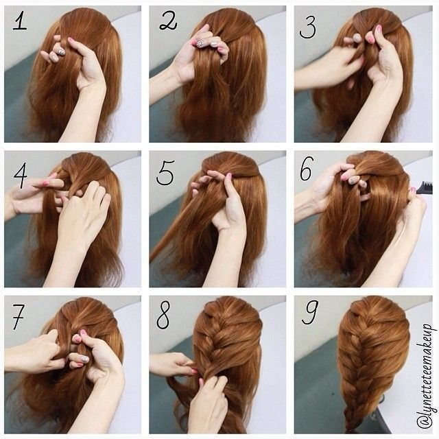 The Best Hairstyles For Long Hair Braids Steps Google Search Pictures
