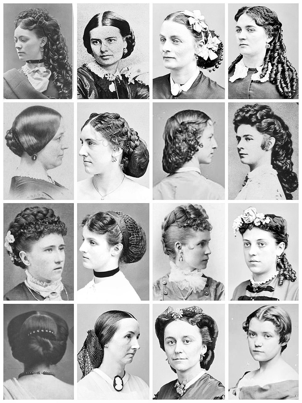 The Best Victorian Hairstyles A Collection Of Victorian Photographs Pictures