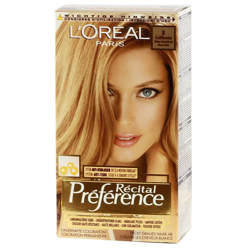 The Best L Oreal Recital Preference 8 California Bright Natural Pictures