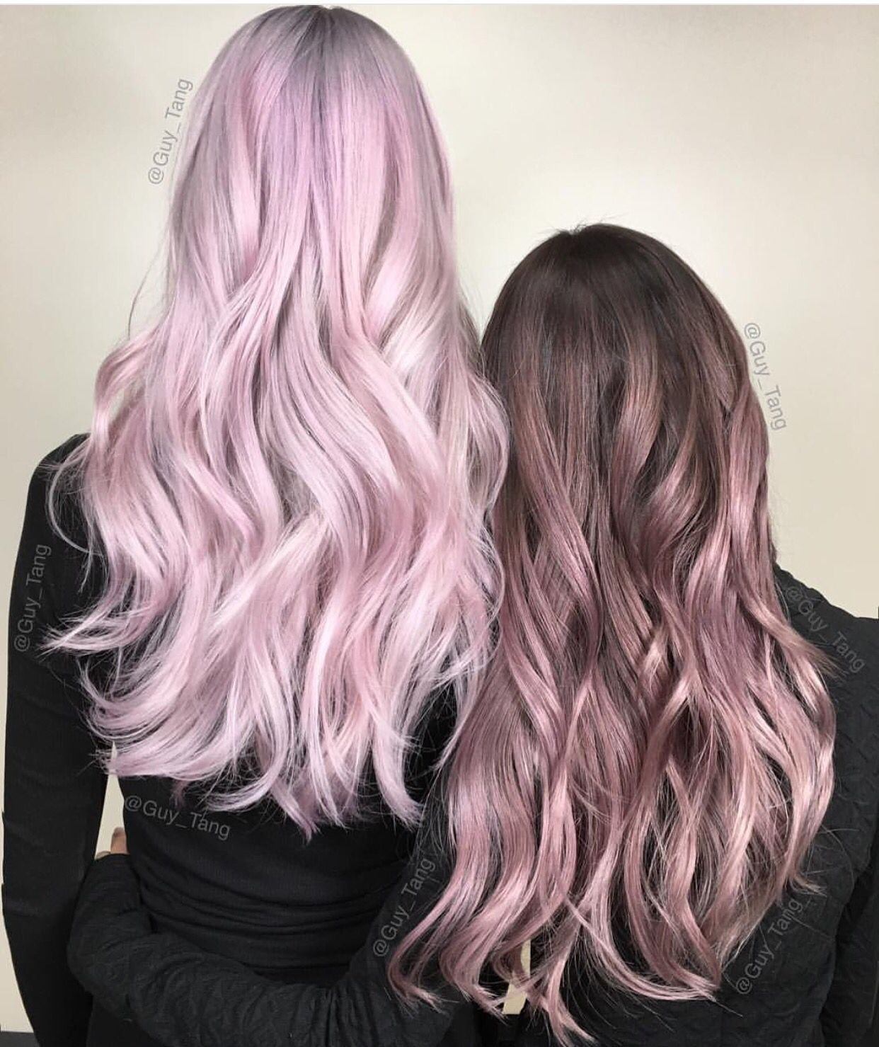 The Best Metallic Pink Hair Color And Metallic Rose Hair Color Pictures