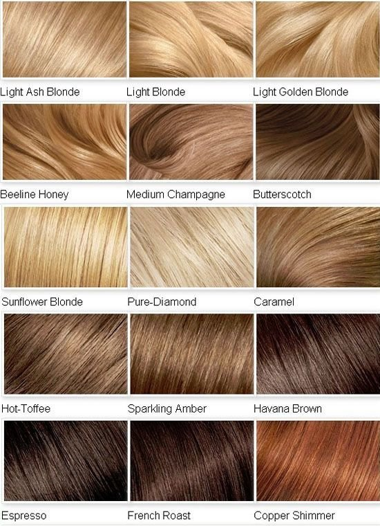 The Best Blonde Color Chart On Pinterest Straight Hairstyles Prom Pictures