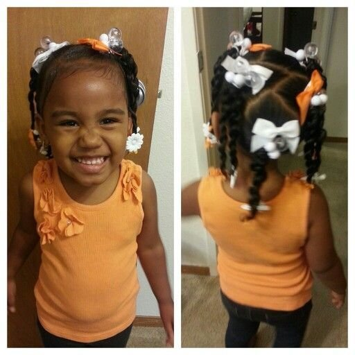 The Best 2 Year Old Black Baby Hairstyles Hair Pictures
