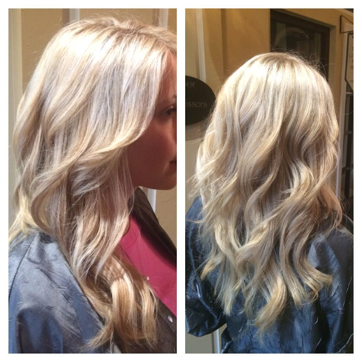 The Best Wella Color Lkn Mooresville Salon Blonde Long Layers Waves Pictures