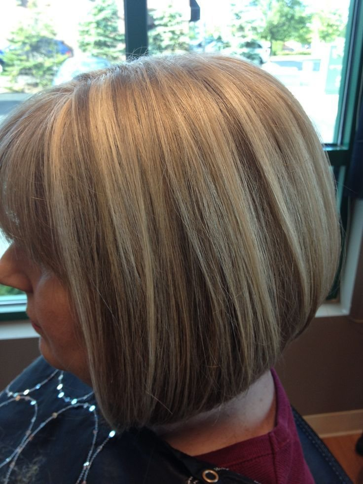 The Best Bob Hairstyles With Blonde Highlights Google Search Short Medium Bob Hairstyles Pinterest Pictures
