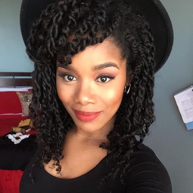 The Best Natural Hair Stylist Jeanneep Rocking Mini Twist With Our Pictures