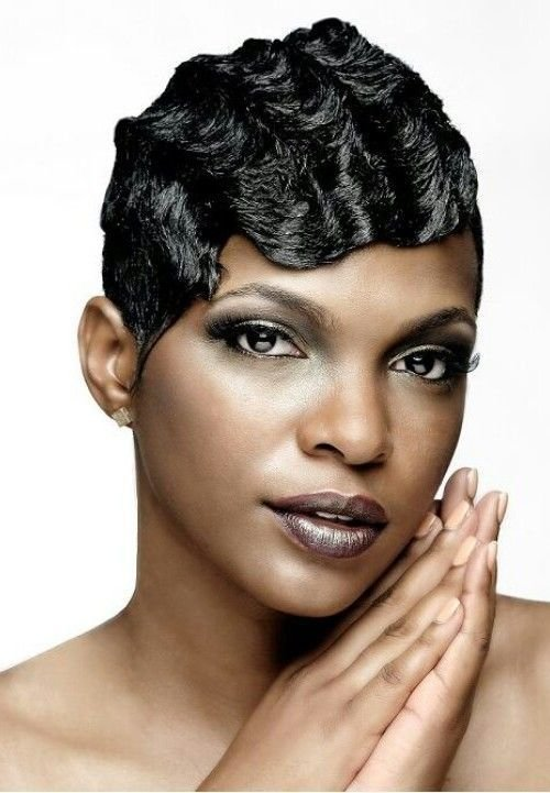 The Best Finger Waves On Short African American Hair Google Pictures