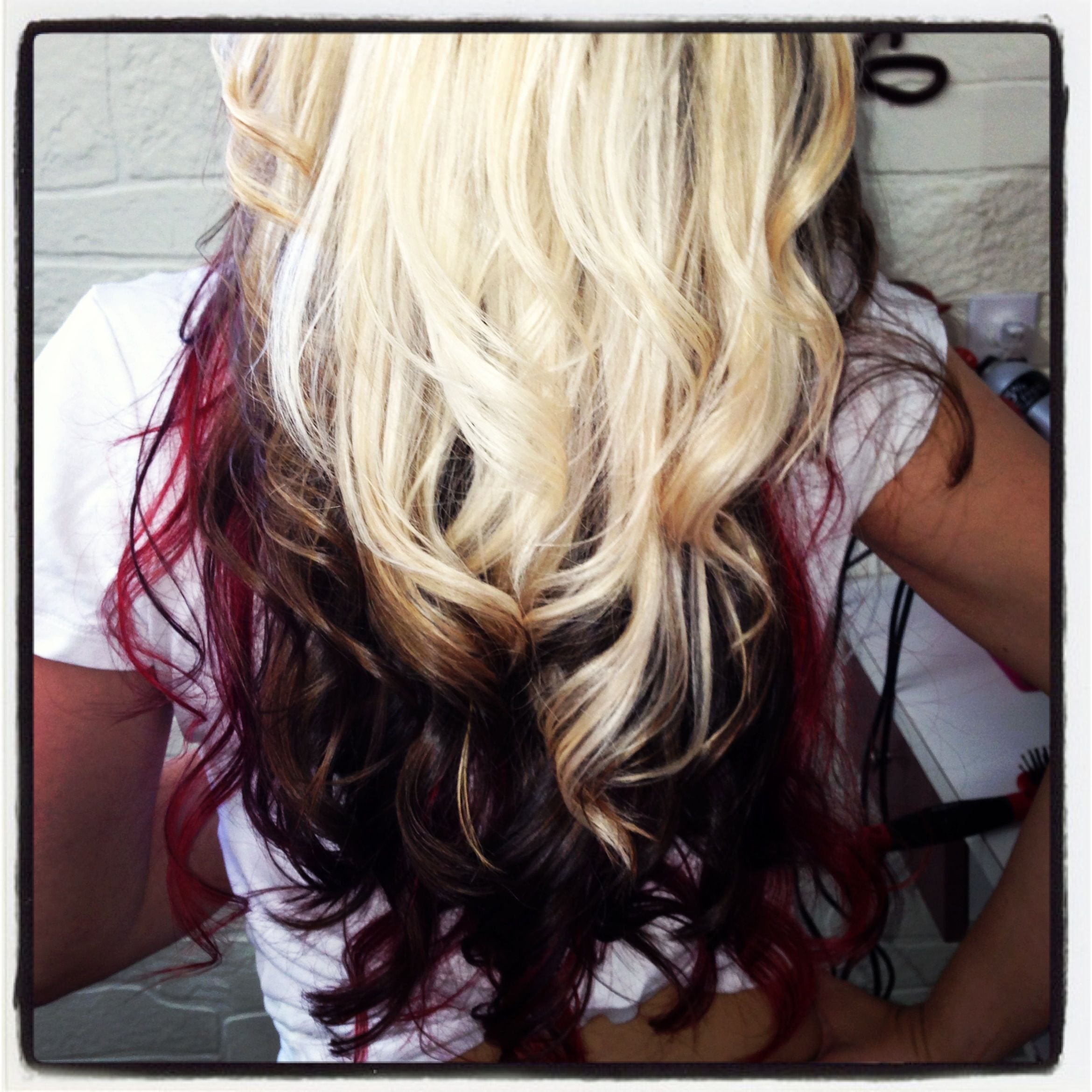 The Best Tri Color Paneling Hair By Jehnyfer Salon 8 Hair Pictures