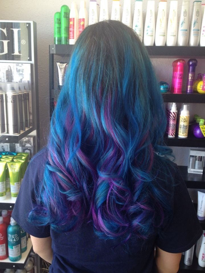 The Best Aqua And Radiant Orchid From Ion Color Brilliance Blue Pictures