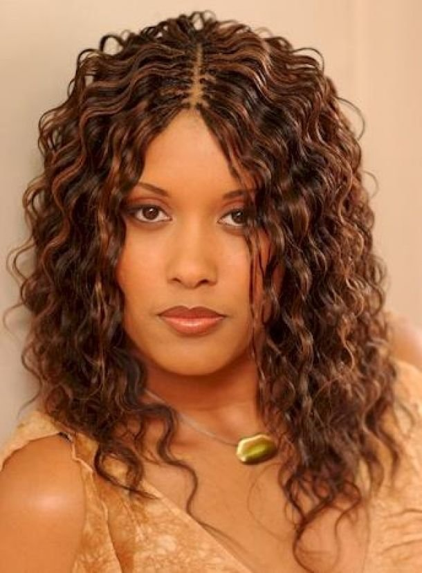 The Best African American Hairstyles Curly Weave Hairstyles Cute Pictures