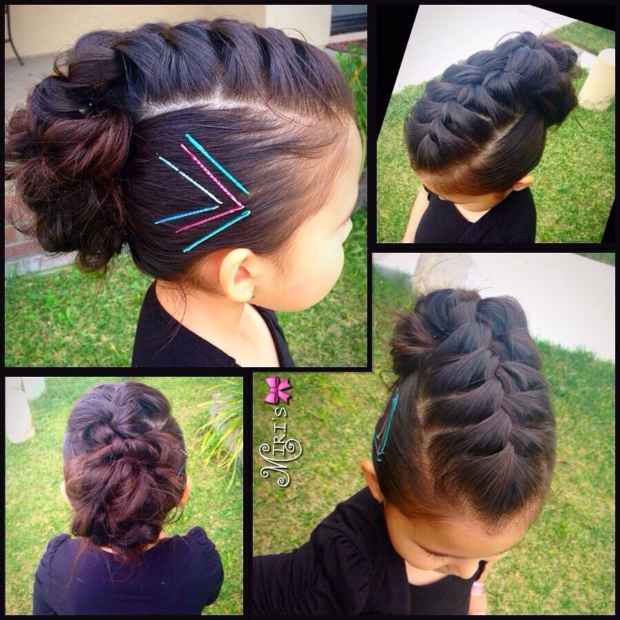 The Best Mohawk Hair Style For Little Girls Braids Pinterest Pictures