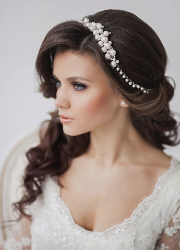 The Best Wedding Hairstyle Ideas For Long Hair Tulle Chantilly Pictures