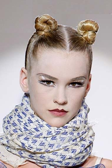 The Best Bun Hairstyles 2013 The Different Ways To Make A Bun Pictures