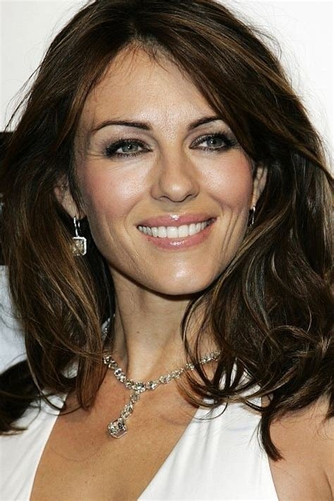 The Best Elizabeth Hurley M*T*R* Hairstyles Pictures