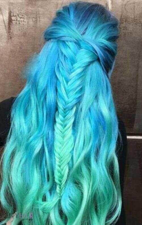 The Best 37 Breathtaking Mermaid Inspired Hairstyles With Hair Extensions Pictures
