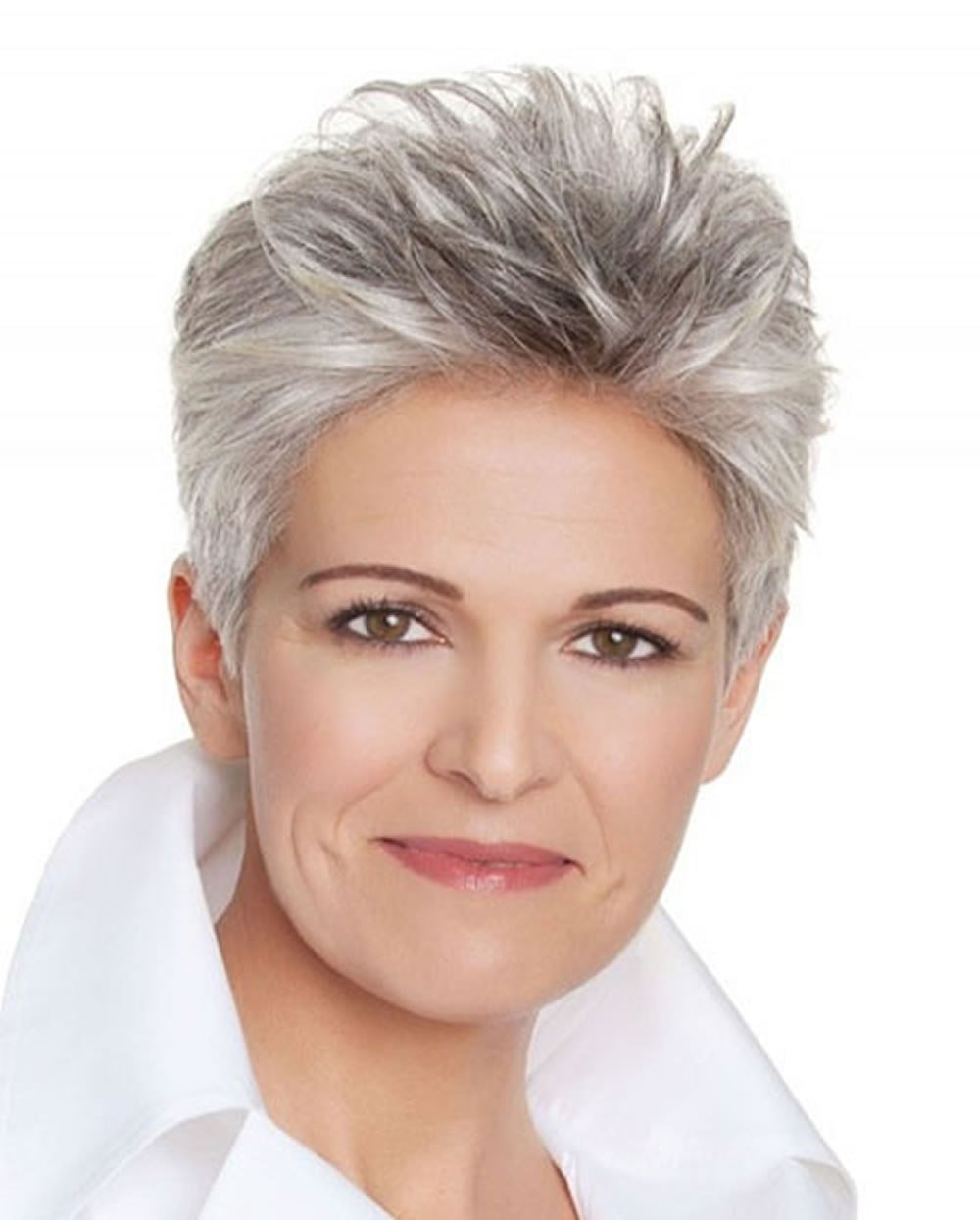 The Best Short Gray Hairstyles For Older Women Over 50 – Gray Hair Pictures
