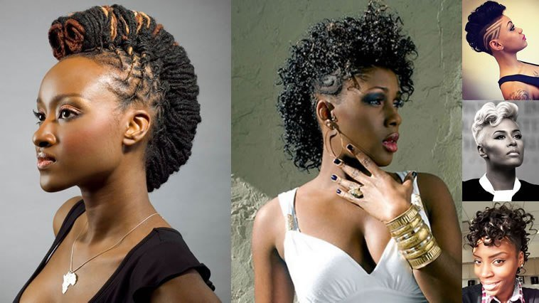 The Best Mohawk Black Women Hairstyles For Summer 2018 2019 – Page Pictures