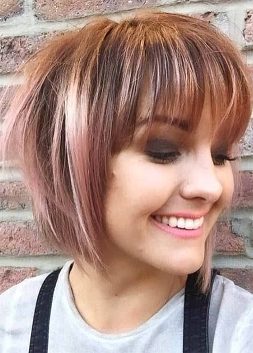 The Best 20 Short Hairstyles For Fat Faces And Double Chins 2019 Pictures
