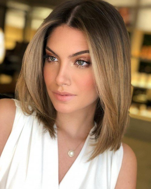 The Best 10 Beautiful Medium Length Hairstyles 2019 Herinterest Com Pictures