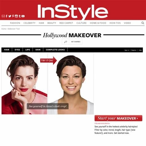 The Best Instyle Hairstyle Try On Immodell Net Pictures
