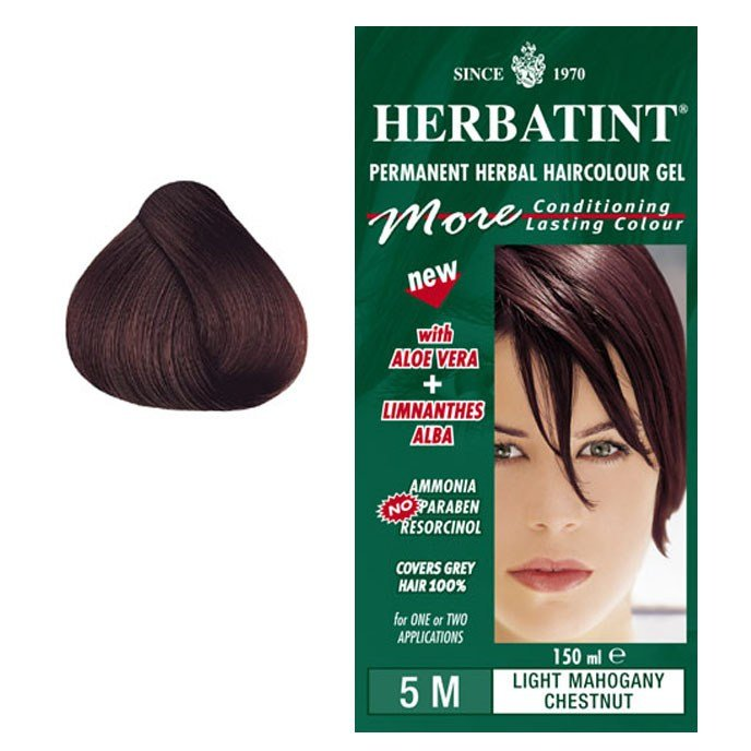 The Best Herbatint Permanent Hair Colour Light Mahogany Chestnut 5M Pictures
