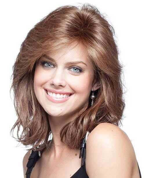 The Best 15 Thick Medium Length Hairstyles Hairstyles And Haircuts Lovely Hairstyles Com Pictures