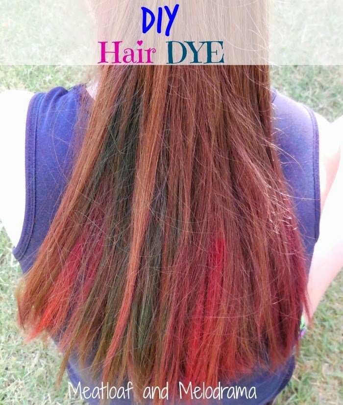 The Best Diy Temporary Hair Dye Meatloaf And Melodrama Pictures