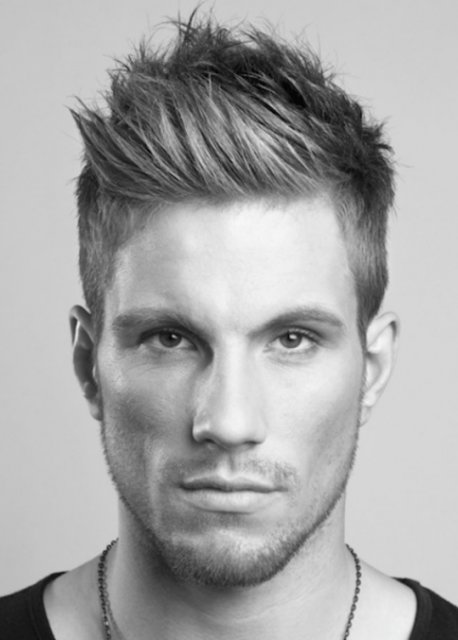 The Best Newest Men Hairstyle With Spiky Hairstyle With Layers And Short Hair On Sides Png Pictures