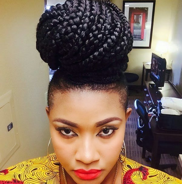 The Best 10 Best Nigerian Actress New Hairstyles New Natural Pictures