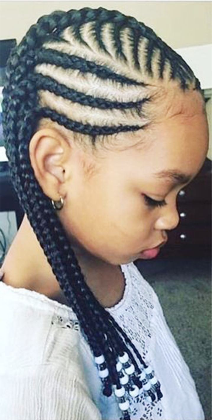 The Best Toddler Braided Hairstyles With Beads New Natural Hairstyles Pictures