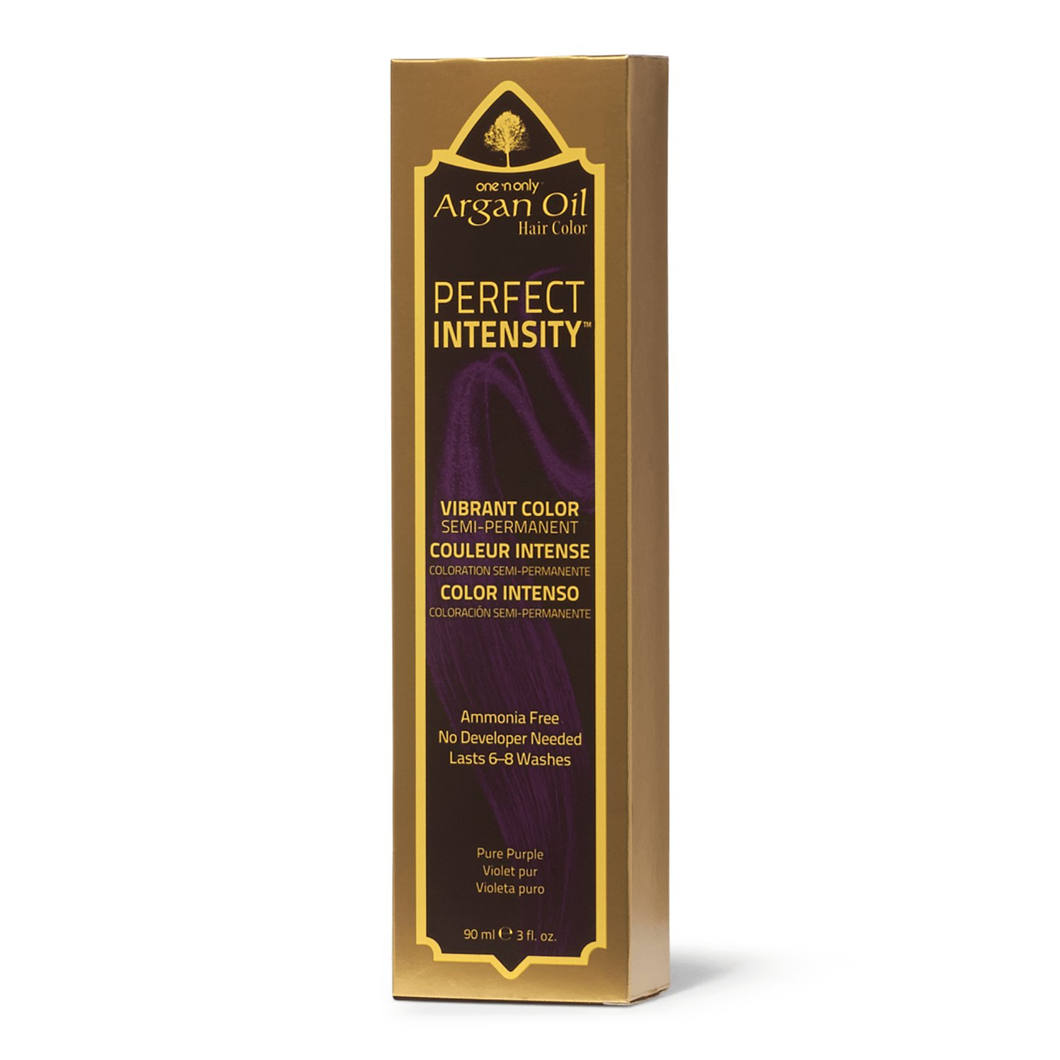 The Best One 'N Only Argan Oil Hair Color Perfect Intensity Pure Purple Pictures