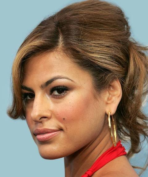 The Best Eva Mendes Best Prom Updo Hairstyle Ideas Sheclick Com Pictures