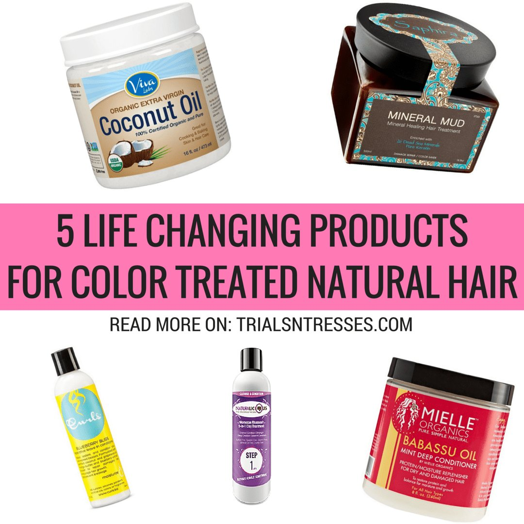 The Best 5 Life Changing Products For Color Treated Natural Hair Pictures
