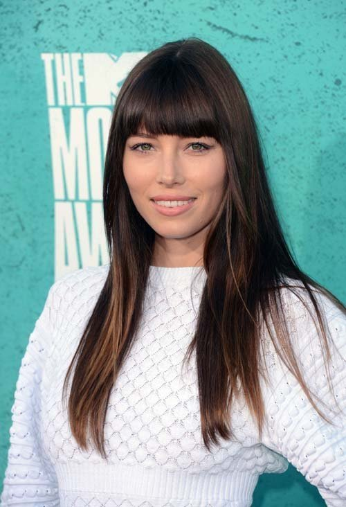The Best Celebrity Blunt Bangs Haircuts Women Hairstyles Pictures