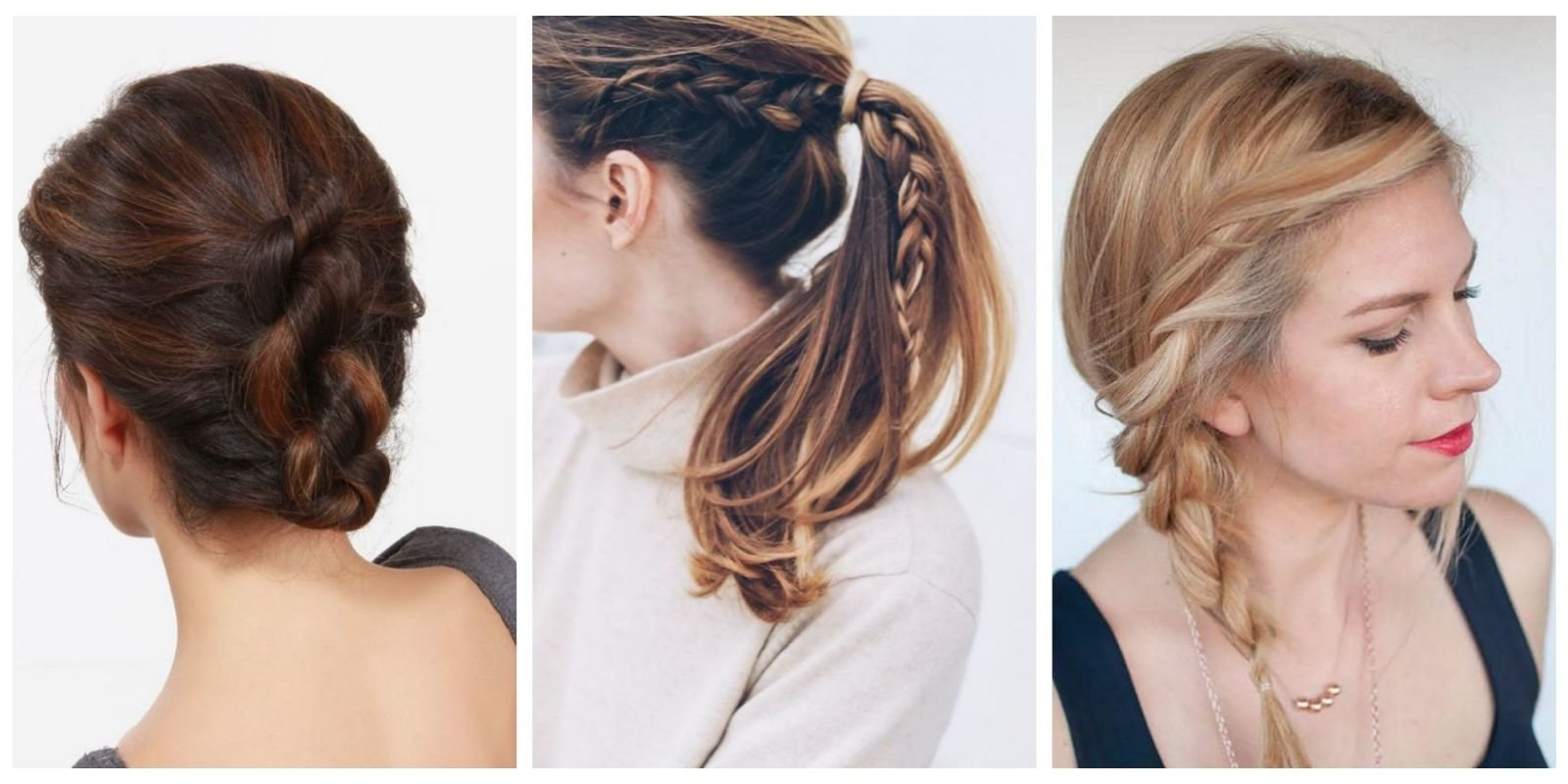 The Best The 10 Easiest Summer Hair Ideas On Pinterest Easy Pictures