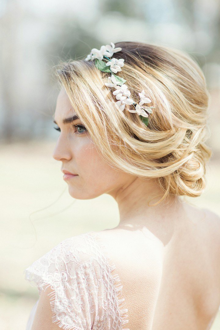 The Best Flower Power Classic Floral Wedding Hairstyles By Jackie Pictures