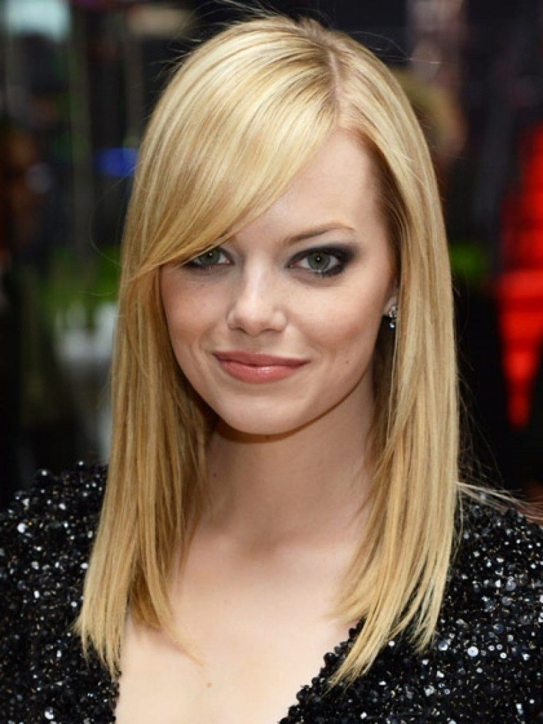 The Best 20 Popular Medium Length Hairstyles With Bangs Magment Pictures