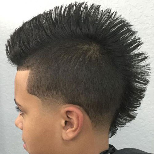 The Best Mohawk Taper Fade Gallery Pictures