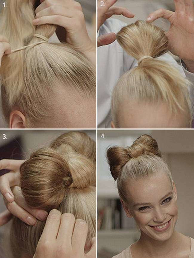 The Best 20 Amazing Step By Step Bun Hairstyles Pictures
