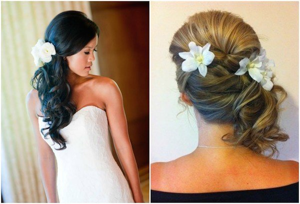 The Best Side Swept Side Wedding Hair With Veil Pictures