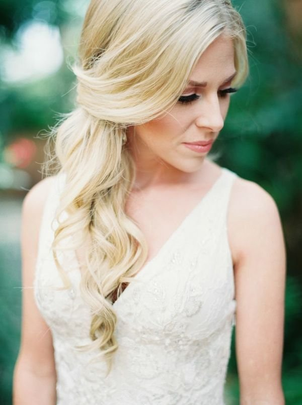 The Best Natural Glamour Wedding Hairstyles For The Romantic Bride Pictures