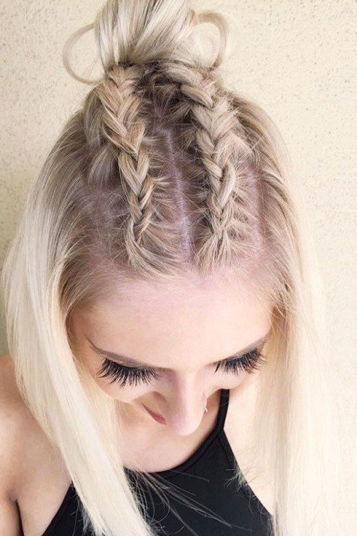 The Best 30 Cute Hairstyles With Braids For Short Hair 2017 2018 Pictures