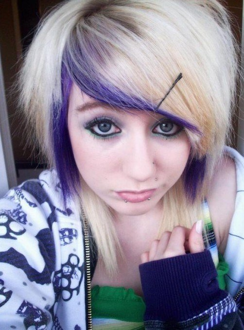 The Best Emo Hairstyles For Girls Latest Popular Emo Girls Pictures