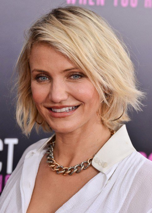 The Best Best Short Bob Hairstyles For Women Over 40 Cameron Diaz Short Haircut Pretty Designs Pictures