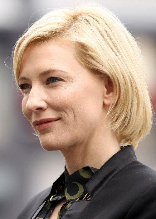 The Best Short Blonde Bob Hairstyle For Heart Face Shape Cate Pictures
